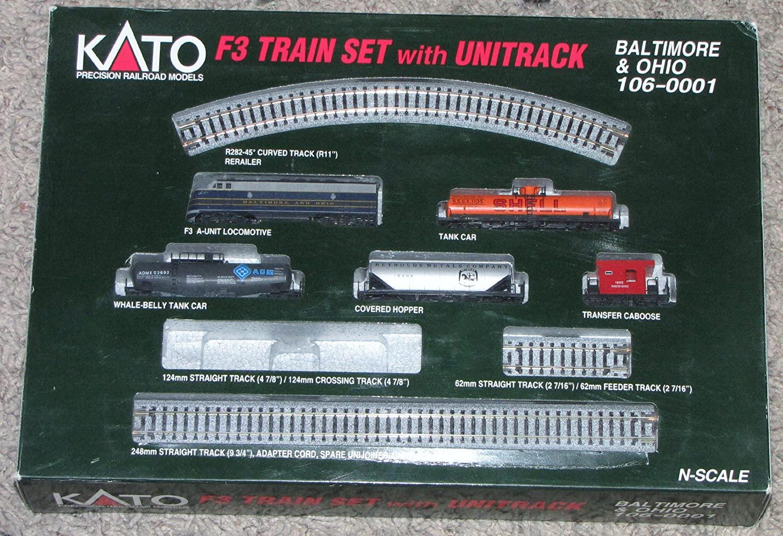 N Scale - Kato USA - 106-0001 - Freight Train, Diesel, North American, Transition Era - Baltimore & Ohio