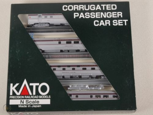 N Scale - Kato - 106-1501-C - Passenger Car, Streamlined, Corrugated Slumbercoach - Canadian Pacific - Chateau Levis 14216