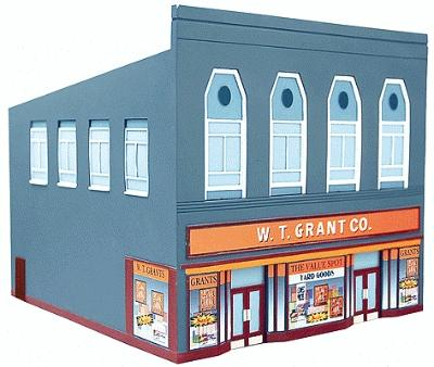 N Scale - IMEX - 6320 - Department Store - Commercial Structures