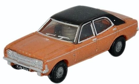 N Scale - Oxford Diecast - NCOR3001 - Automobile, Ford, Cortina - Painted/Unlettered - KJM 212K