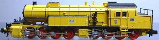 N Scale - Arnold - 2277 - Locomotive, Steam, 0-8-8-0, BR 96 - K.Bay.Sts.B. (Royal Bavarian State Railroad) - 5751