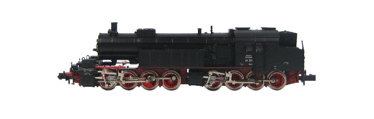 N Scale - Arnold - 2278 - Locomotive, Steam, 0-8-8-0, BR 96 - Deutsche Reichsbahn - 96 001