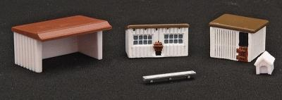 N Scale - IMEX - 6306 - Farm Buildings - Agricultural Structures