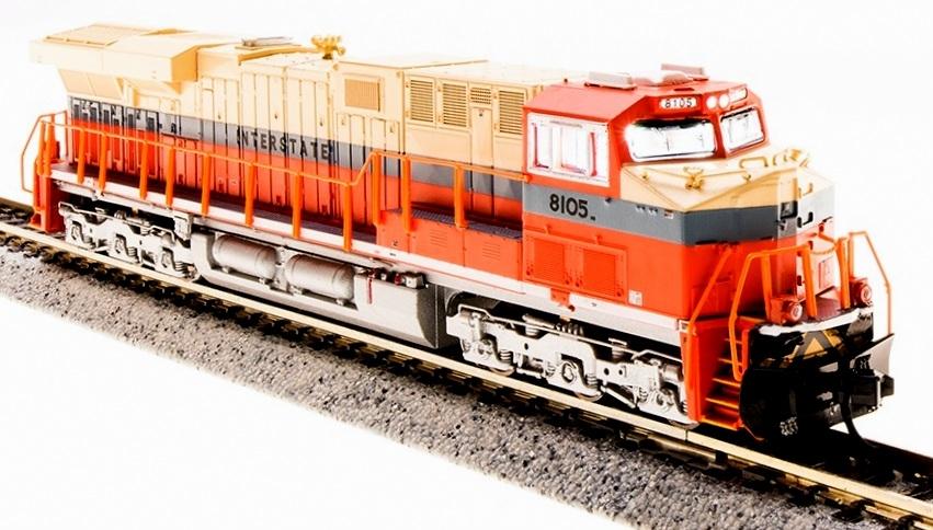 N Scale - Broadway Limited - 3549 - Locomotive, Diesel, GE GEVO - Norfolk Southern - 8105