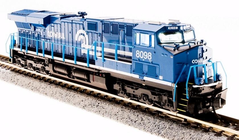 N Scale - Broadway Limited - 3542 - Locomotive, Diesel, GE GEVO - Conrail - 8098