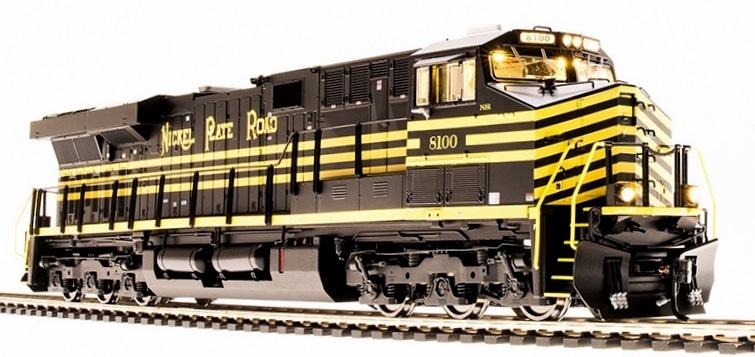 N Scale - Broadway Limited - 3544 - Locomotive, Diesel, GE GEVO - Norfolk Southern - 8100