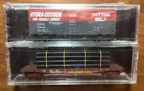 N Scale - Micro-Trains - NSC 06-60 - Cotton Belt 2-Pack - Cotton Belt - 30040, 85598