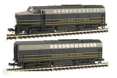N Scale - E-R Models - 7308 - Locomotive, Diesel, Baldwin RF-16 - Baltimore & Ohio - 4212, 5212