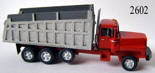 N Scale - Lineside Models - 2602 - Dump Truck - Undecorated