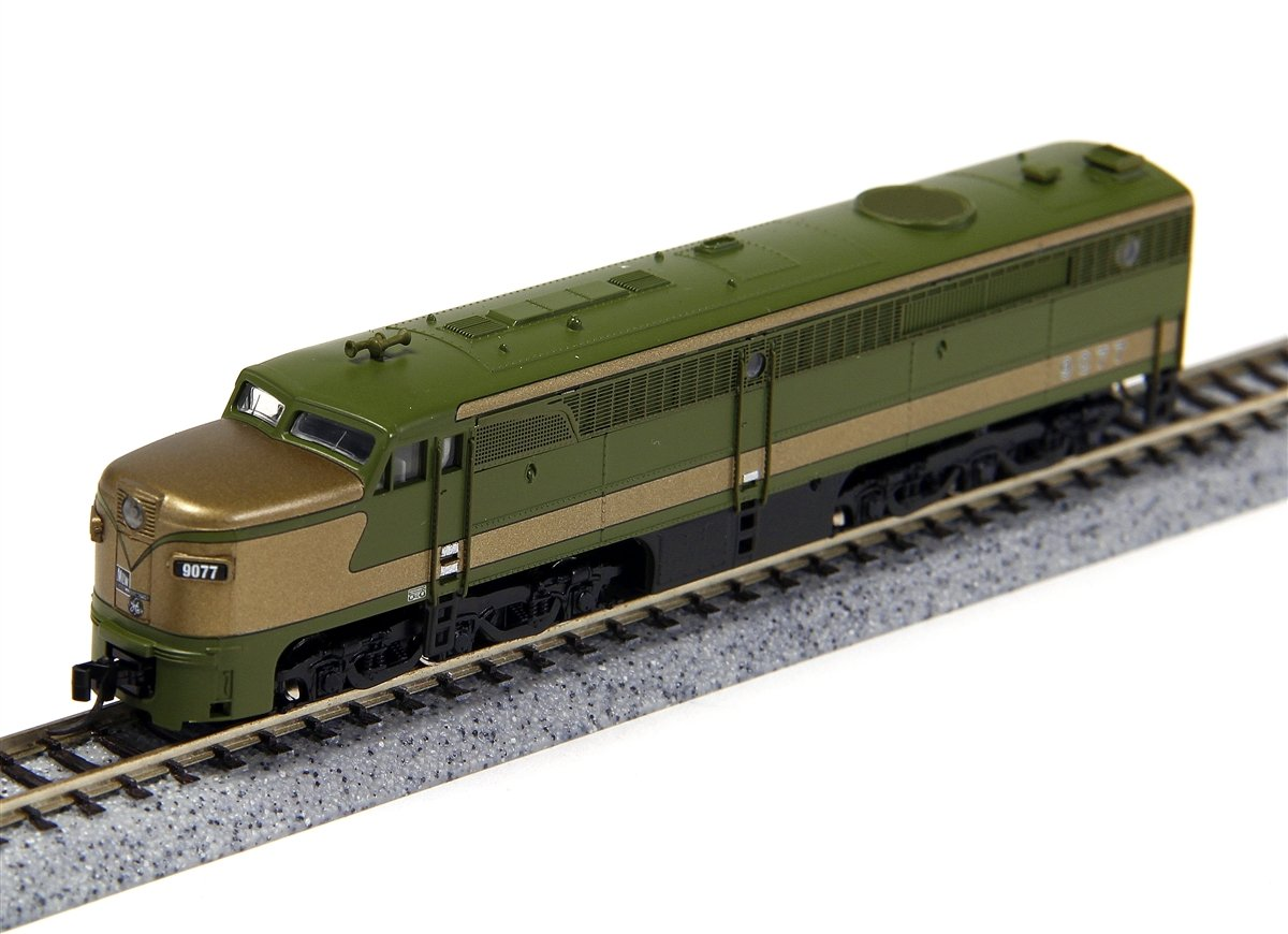 N Scale - Broadway Limited - 3206 - Locomotive, Diesel, Alco PA/PB - Canadian National - 9078