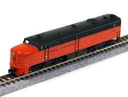 N Scale - Broadway Limited - 3209 - Locomotive, Diesel, Alco PA/PB - New Haven - 0761