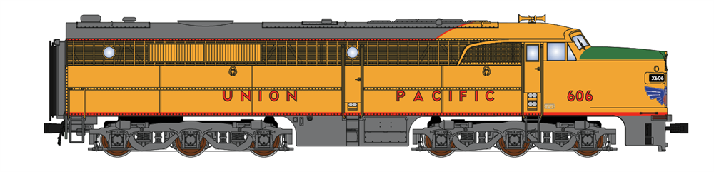 N Scale - Broadway Limited - 3217 - Locomotive, Diesel, Alco PA/PB - Union Pacific - 607