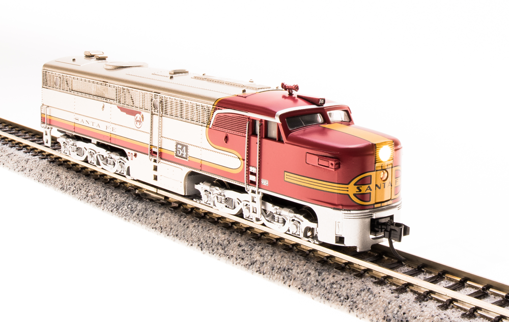 N Scale - Broadway Limited - 3203 - Locomotive, Diesel, Alco PA/PB - Santa Fe - 54L