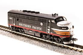 N Scale - Broadway Limited - 3494 - Locomotive, Diesel, EMD F3 - Southern Pacific - 6102D