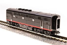 N Scale - Broadway Limited - 3495 - Locomotive, Diesel, EMD F3 - Southern Pacific - 6102C