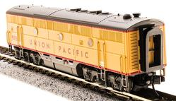 N Scale - Broadway Limited - 3497 - Locomotive, Diesel, EMD F3 - Union Pacific - 907B