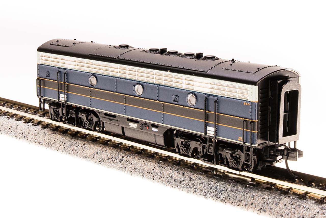 N Scale - Broadway Limited - 3521 - Locomotive, Diesel, EMD F7 - Baltimore & Ohio - 182X