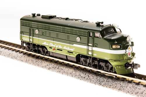N Scale - Broadway Limited - 3526 - Locomotive, Diesel, EMD F7 - Northern Pacific - 6511A