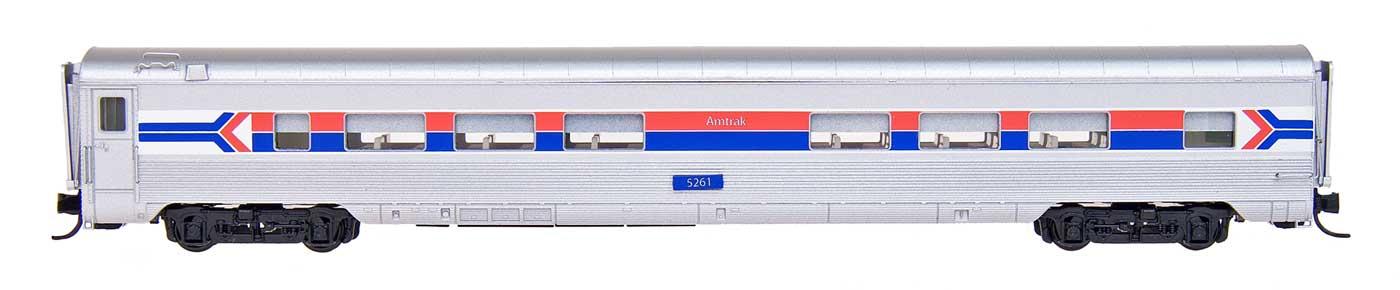 N Scale - Centralia Car Shops - CCS6909-07 - Passenger Car, Lightweight, Pullman, Coach, 52-Seat - Amtrak - 6256