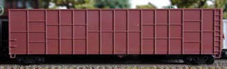 N Scale - Deluxe Innovations - 105001 - Gondola, Woodchip - Undecorated