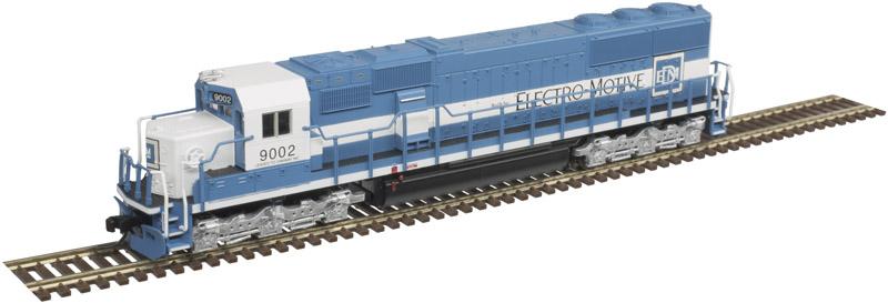 N Scale - Atlas - 40 003 950 - Locomotive, Diesel, EMD SD60 - Electro Motive Diesel - 9077