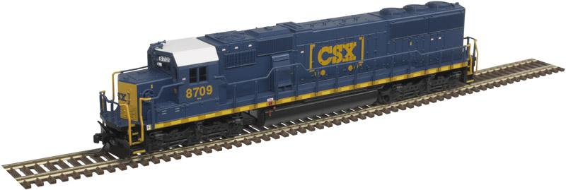 N Scale - Atlas - 40 003 984 - Locomotive, Diesel, EMD SD60 - CSX Transportation - 8709