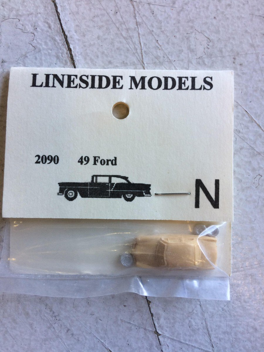 N Scale - Lineside Models - 2090 - Automobile - Undecorated