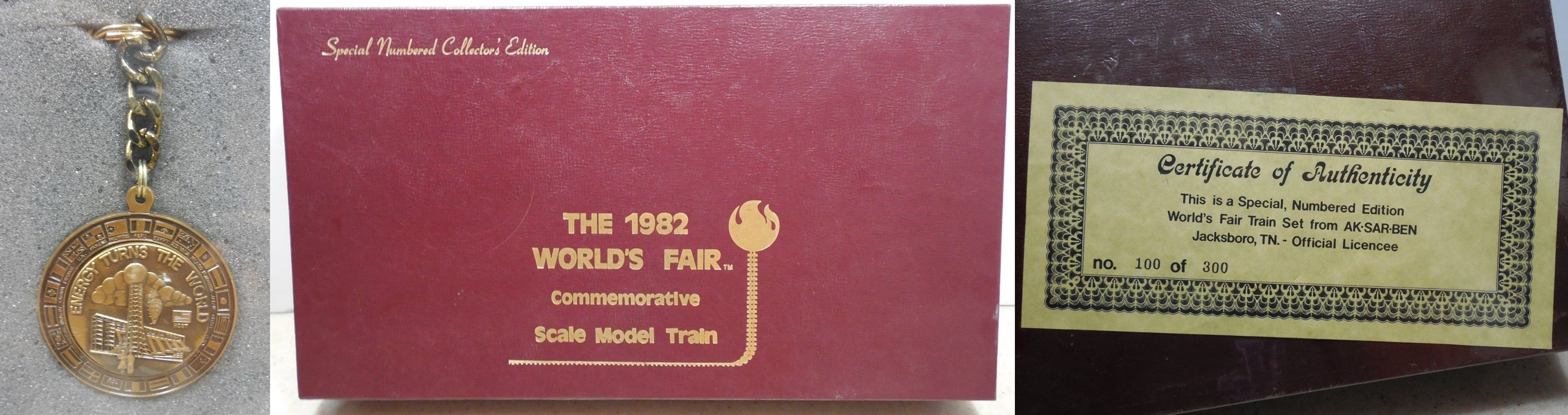 N Scale - Ak-Sar-Ben - The 1982 World