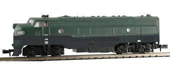 N Scale - Model Power - 89451 - Locomotive, Diesel, EMD FP7 - Northern Pacific - 6700