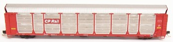 N Scale - Red Caboose - RM-192201I - Autorack, Enclosed, Bi-Level - Canadian Pacific - 543041