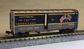 N Scale - CO. K Productions - Gettysburg 2003 - Boxcar, 40 Foot, AAR 1937 - Commemorative - 2003140