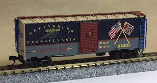 N Scale - CO. K Productions - Gettysburg 2002 - Boxcar, 40 Foot, AAR 1937 - Commemorative - 20021863