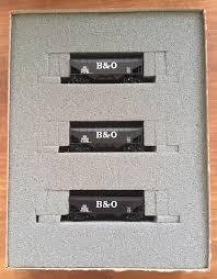 N Scale - Ak-Sar-Ben - 104 - Open Hopper, 2-Bay, Offset Side - Baltimore & Ohio - 825637, 825638, 827341