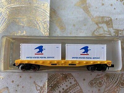 N Scale - Model Power - 4051 - Flatcar, 45 Foot, Fishbelly - TTX Company - 160187