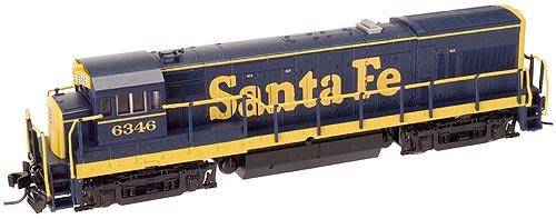 N Scale - Atlas - 47911 - Locomotive, Diesel, GE U23B - Santa Fe - 6330
