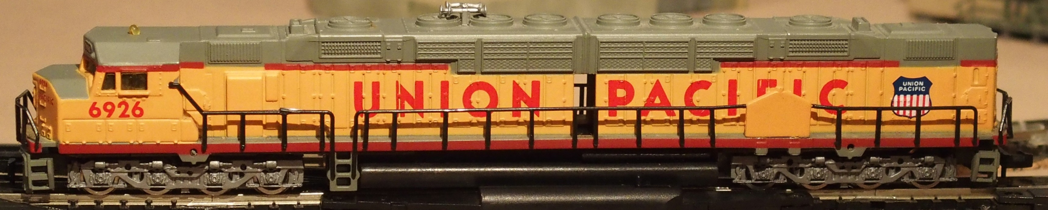 N Scale - Bachmann - 065551 - Locomotive, Diesel, EMD DDA40X - Union Pacific - 6926