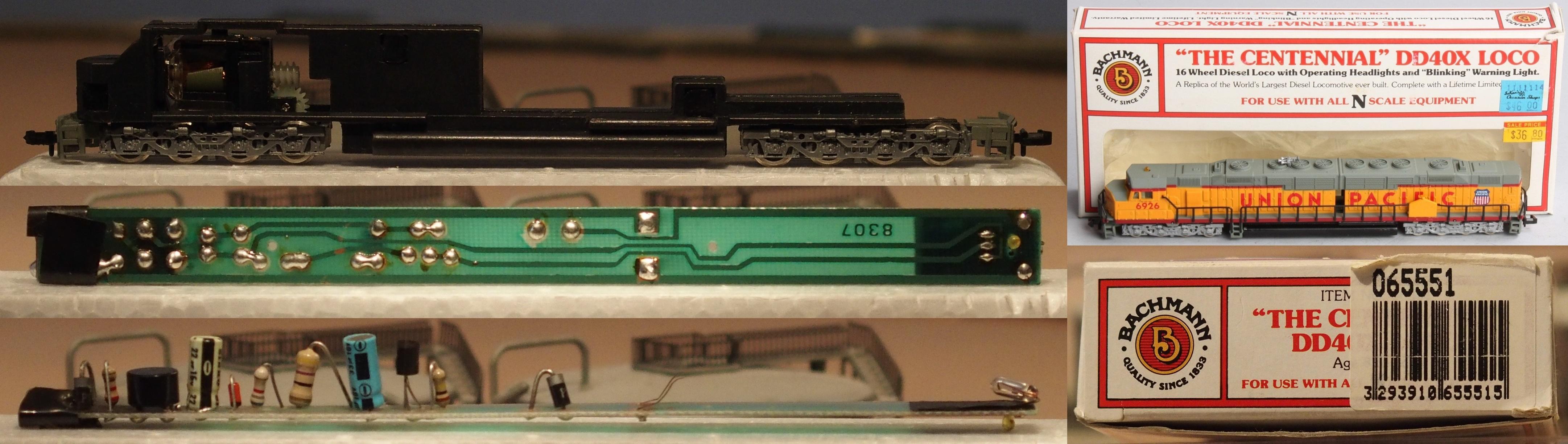 N Scale - Bachmann - 065551 - Locomotive, Diesel, EMD DDA40X - Union Pacific - 6926