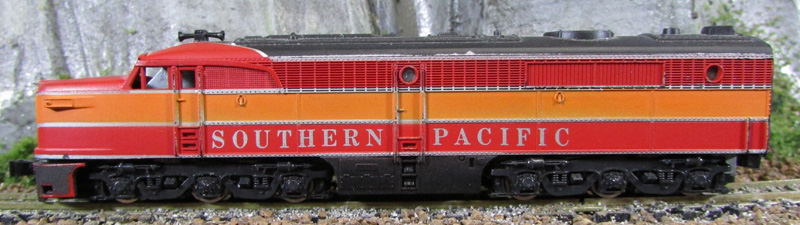 N Scale - Con-Cor - 0001-002005 - Locomotive, Diesel, Alco PA/PB - Southern Pacific