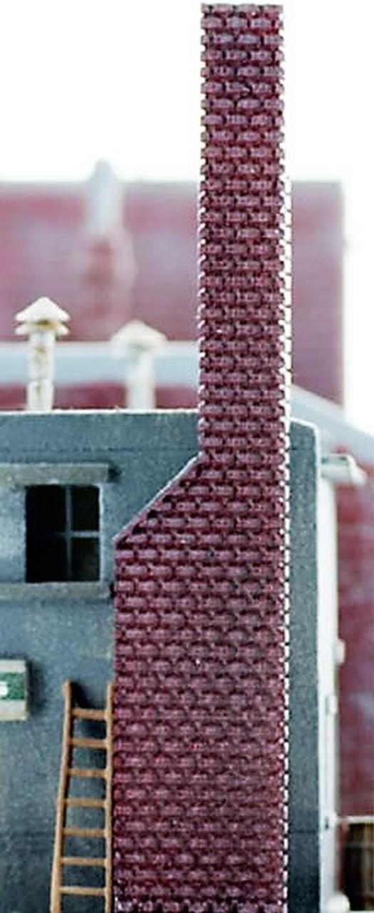 N Scale - Model Tech Studios - D1045P - Boxes - Painted/Unlettered - Chimney