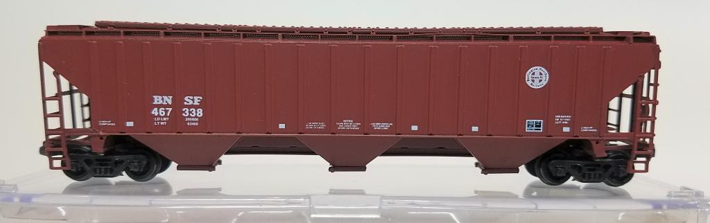 N Scale - InterMountain - BLW-1135B-B2 - Covered Hopper, 3-Bay, Thrall 4750 - Burlington Northern Santa Fe - 467338