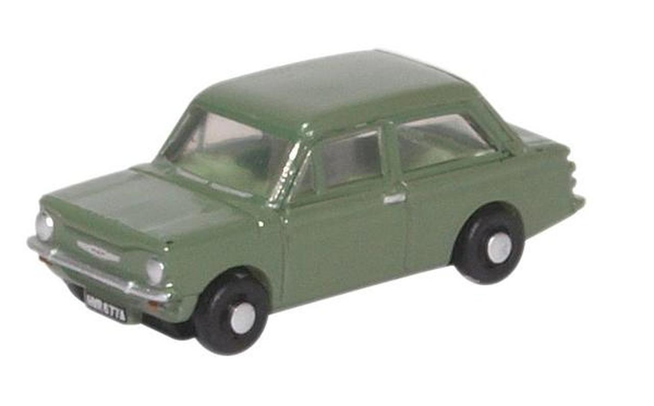 N Scale - Oxford Diecast - NH1001 - Automobile, Hillman - Painted/Unlettered - NWR 677A