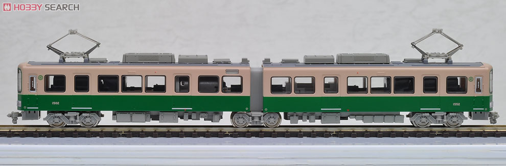 N Scale - Modemo - NT118 - Japanese Tram - Enoshima Electric Railway - 1502, 1552