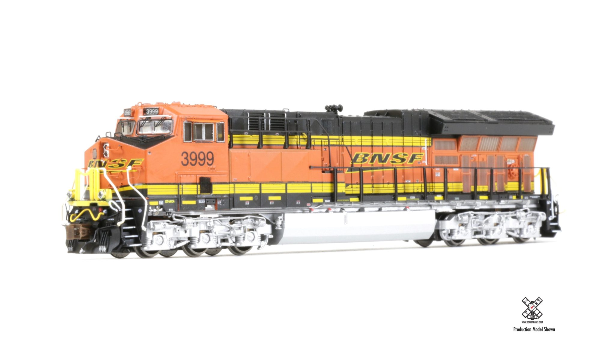 N Scale - ScaleTrains.com - SXT30614 - Locomotive, Diesel, GE GEVO - Burlington Northern Santa Fe - 3999