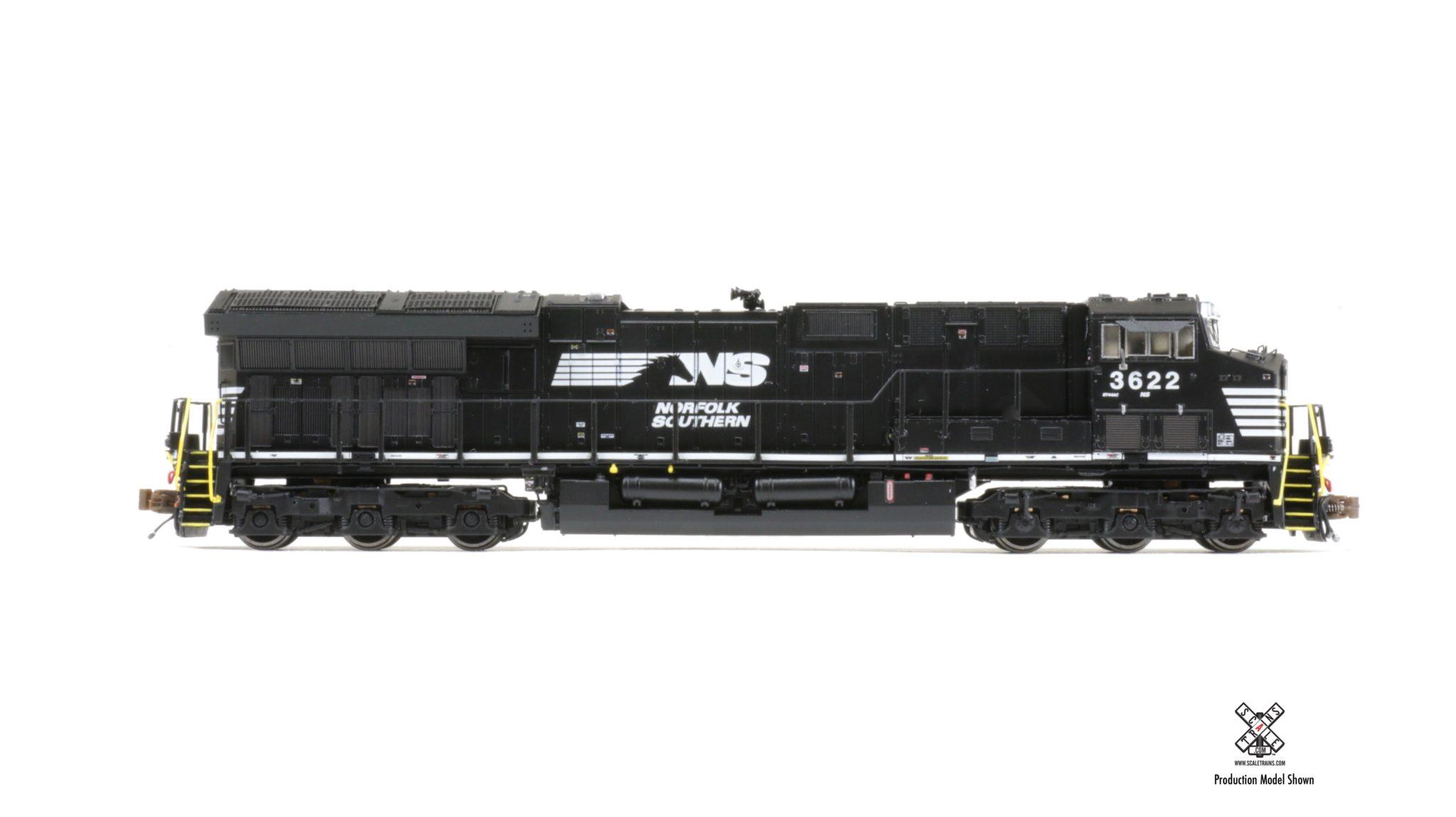 N Scale - ScaleTrains.com - SXT30657 - Locomotive, Diesel, GE GEVO - Norfolk Southern - 3622