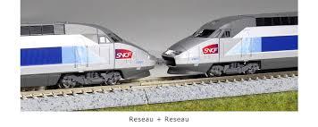 N Scale - Kato Lemke - 10-1431 - Passenger Train, Electric, TGV - SNCF - 4503 (Réseau)