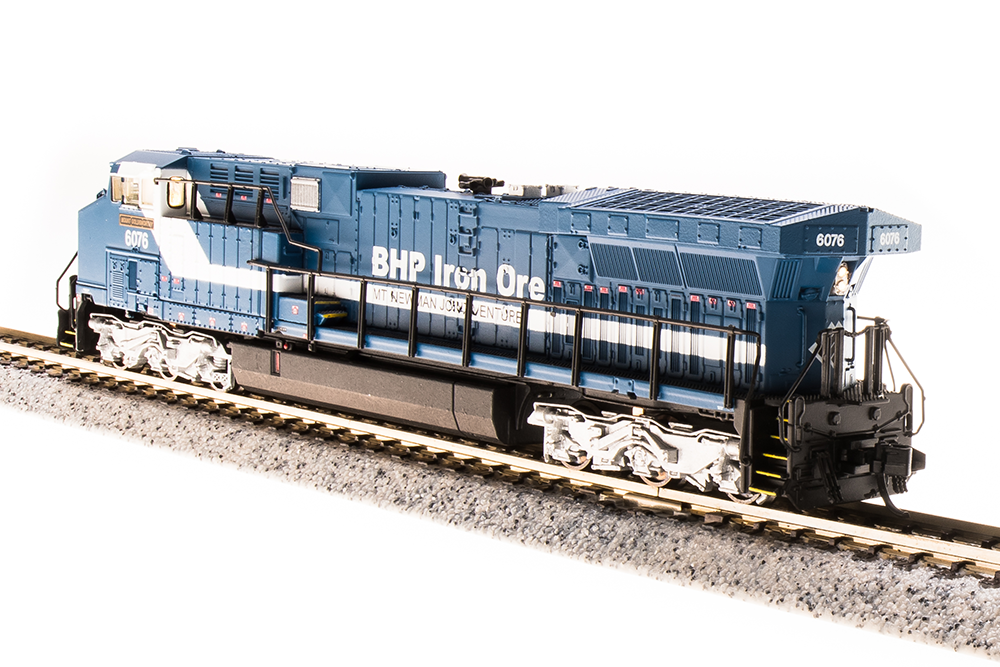 N Scale - Broadway Limited - 3741 - Locomotive, Diesel, GE AC6000CW - BHP Billiton - 6074