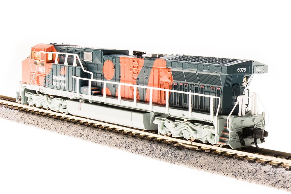 N Scale - Broadway Limited - 3742 - Locomotive, Diesel, GE AC6000CW - BHP Billiton - 6070