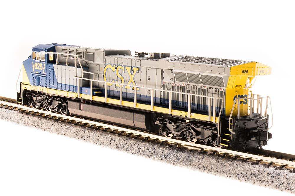 N Scale - Broadway Limited - 3744 - Locomotive, Diesel, GE AC6000CW - CSX Transportation - 634