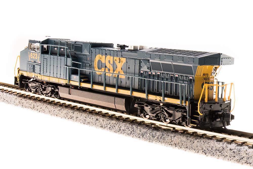 N Scale - Broadway Limited - 3746 - Locomotive, Diesel, GE AC6000CW - CSX Transportation - 648