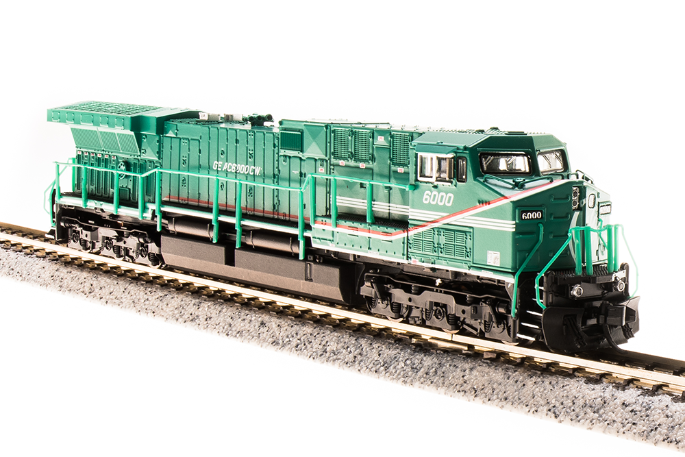 N Scale - Broadway Limited - 3748 - Locomotive, Diesel, GE AC6000CW - General Electric Transportation - 6000